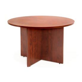 """Regency Conference Table - Round 42"""" - Cherry"""