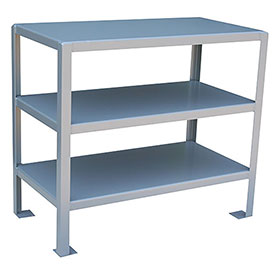 48 X 24 3 Shelf Machine Table