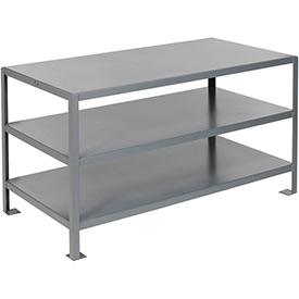 60 X 30 3 Shelf Machine Table