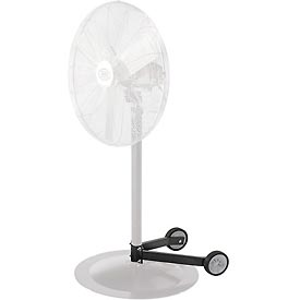 "Fan Dolly for Pedestal Fans - fits 1-1/2"" to 2-1/4"" dia. columns and 28"" and smaller bases"