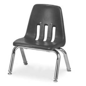 Virco® 9010 Classic Series™ Classroom Chair -Gray Vented Back - Pkg Qty 4