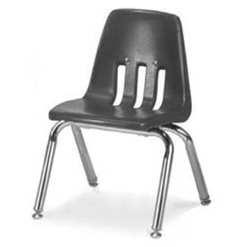 Virco® 9012 Classic Series™ Classroom Chair - Gray Vented Back - Pkg Qty 4