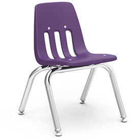 Virco® 9012 Classic Series™ Classroom Chair - Purple Vented Back - Pkg Qty 4