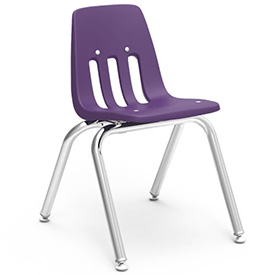 Virco® 9014 Classic Series™ Classroom Chair - Purple Vented Back - Pkg Qty 4