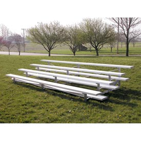Aluminum Bleachers 4 row 21' W