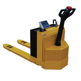 Vestil Self-Propelled Electric Scale Pallet Jack Truck EPT2748-45-SCL 4500 Lb.