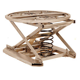 Southworth Stainless Steel PalletPal Spring-Actuated Pallet Carousel - SSPPL Range 4