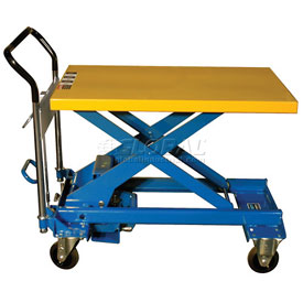 Southworth Dandy Lift A-500 Mobile Scissor Lift Table 1100 Lb. Capacity