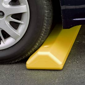 "Eagle Parking Curb with Hardware 72""L x 4""H x 8""W Yellow, 1790Y"