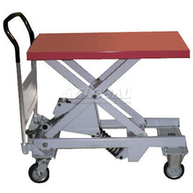 Southworth Dandy Leveler DLV-500 Mobile Spring Lift Work Table 1100 Lb. Capacity