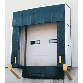 "Vestil Rigid Dock Door Shelter D-750-18 10'W x 10'H with 18"" Projection"