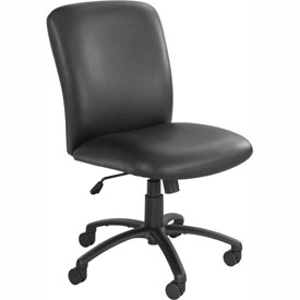 Big & Tall High Back Chair Black Vinyl