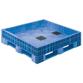 Buckhorn Transport Tubs BF484512XP23000 - 48x45x12 2300 Lbs Blue
