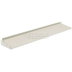 "60""W Cantilever Shelf For Uprights- Tan"