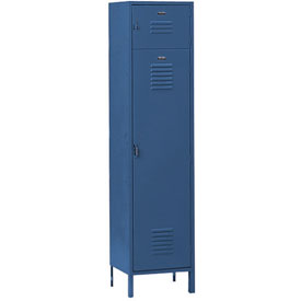 Penco 6443V806 Vanguard Box Over Locker 12x18x72 Ready To Assemble Marine Blue