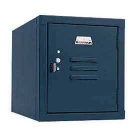 Penco 6157V806 Vanguard One High Box Locker 12x12x13-5/8 Unassembled Marine Blue