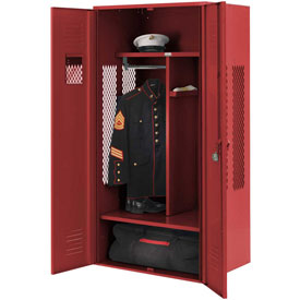Penco 6KGDA10722 Patriot Gear Locker 30x24x72 Ready To Assemble Patriot Red