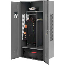 Penco 6WGDA00C028 Patriot Gear Welded Locker 24x24x76 Gray