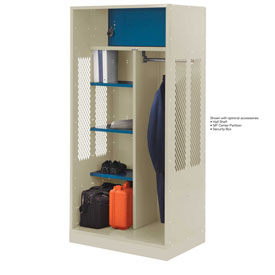 Penco 6WTDA10C073 Patriot Turnout Welded Locker 30x24x76 Champagne