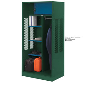 Penco 6WTDA10C812 Patriot Turnout Welded Locker 30x24x76 Hunter Green