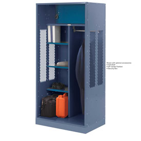 Penco 6WTDA20C806 Patriot Turnout Welded Locker 36x24x76 Marine Blue