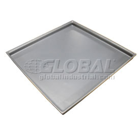 Rotationally Molded Plastic Tray 29-1/2 x29-1/2x2 Gray