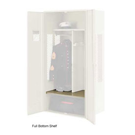 Penco 6SHX530C073 Full Bottom Shelf For Patriot Locker, 24Wx24D Champagne