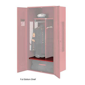 Penco 6SHX530C722 Full Bottom Shelf For Patriot Locker, 24Wx24D Patriot Red