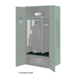 Penco 6SHX531C812 Full Bottom Shelf For Patriot Locker, 30Wx24D Hunter Green