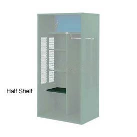 Penco 6SHX522C812 Half Shelf For Patriot Locker, 15Wx15D Hunter Green
