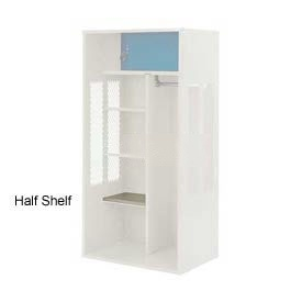 Penco 6SHX523C073 Half Shelf For Patriot Locker, 18Wx15D Champagne