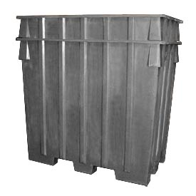 Bayhead AB-65-GRAY Nesting Pallet Container 75x45x65 1500 Lb Cap. Gray