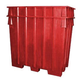Bayhead AB-65-RED Nesting Pallet Container 75x45x65 1500 Lb Cap. Red