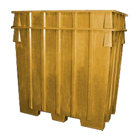 Bayhead AB-65-YELLOW Nesting Pallet Container 75x45x65 1500 Lb Cap. Yellow