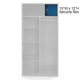Penco 6ACXAB98H806 Security Box For Patriot Locker, 15Wx12H Marine Blue