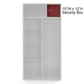 Penco 6ACXAB98H722 Security Box For Patriot Locker, 15Wx12H Patriot Red