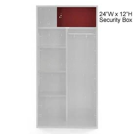 Penco 6ACXAB99H722 Security Box For Patriot Locker, 24Wx12H Patriot Red