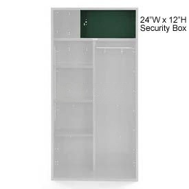 Penco 6ACXAB99H812 Security Box For Patriot Locker, 24Wx12H Hunter Green