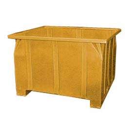 Bayhead GG-24-YELLOW Stacking Pallet Container 47x42x24 800 Lb Cap. Yellow