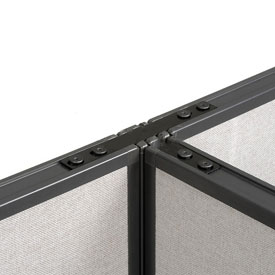 """Interion™ 3 Way Connector For 42"""" Panel With Filler"""