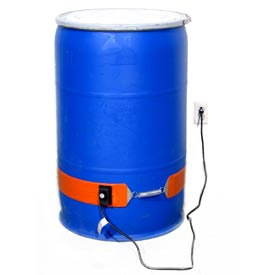 Drum Heater for 30 Gallon Plastic or Fiber Drum - 115V, 250W
