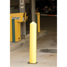 "Eagle Poly Bollard Post Yellow 7""W x 42""H, 1733"