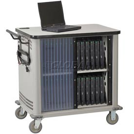 Datum 20-Laptop Storage and Charging Cart, Series CSC-PC20UL