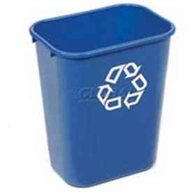 Rubbermaid® Deskside Paper Recycling Container - 41-1/4 Qt