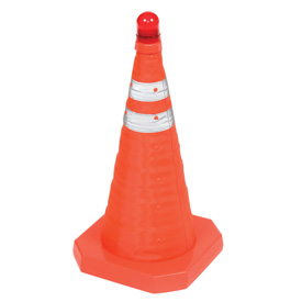 "18"" Collapsible Safety Cone - Pkg Qty 6"