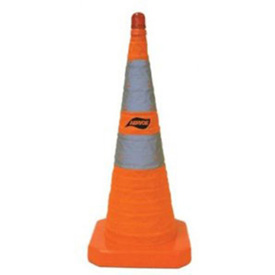 "28"" Collapsible Safety Cone - Pkg Qty 6"