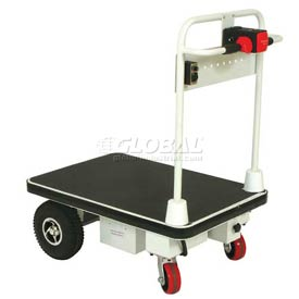 Wesco® Self-Propelled Battery Powered Platform Truck 272414 24x48 1100 Lb.
