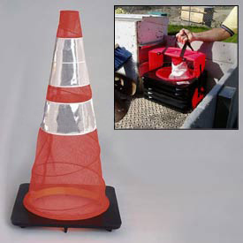 Quick Deploy Emergency Spring Cone Pack of 6