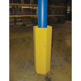 Hexagonal Steel Column Guard 48""