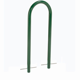 U-Rack Bike Rack, Green, 2-Bike, Below Ground Mount